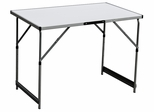 Corner Limited Slim Jim Adjustable Aluminum Table