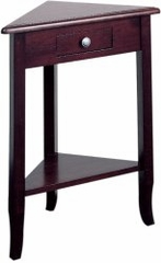 Corner Table in Merlot - Office Star - ME05
