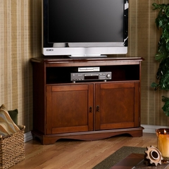 Corner TV/Media Stand - Cherry - Holly and Martin