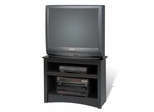 Corner TV Stand in Black - Sonoma Collection - Prepac Furniture - BTV-3224