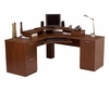 Corner Workstation in Tuscany Brown - Elite - Bestar Office Furniture - 68430-63