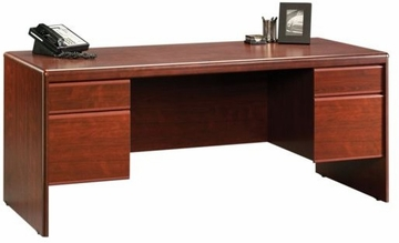Cornerstone Executive Desk Classic Cherry - Sauder Furniture - 404972