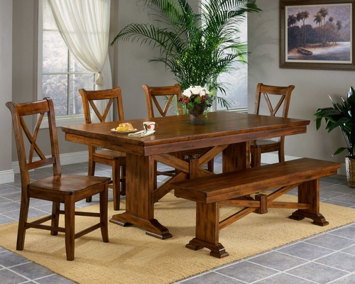 Cornwall Dining Room Furniture Set - Entree by APA Marketing - CRN-DSET-1