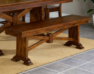 Cornwall Trestle Bench - Entree by APA Marketing - CRN-BEN60