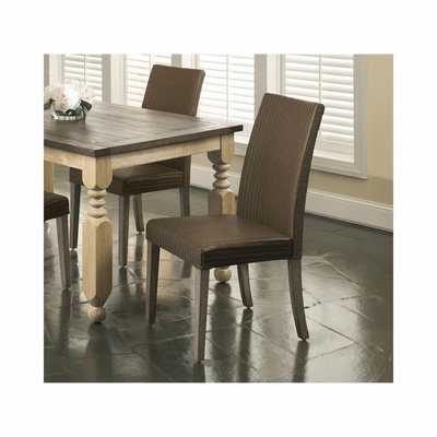 Coronado Chocolate Loom Side Chair - Set of 2 - Largo - LARGO-ST-D210-41D