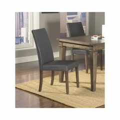 Coronado Gray Loom Side Chair - Set of 2 - Largo - LARGO-ST-D210-41G
