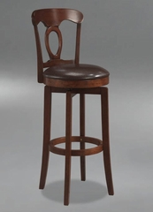 Corsica Swivel Bar Stool with Vinyl Seat - Hillsdale Furniture - 4166-832