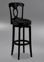 Corsica Swivel Counter Stool with Vinyl Seat - Hillsdale Furniture - 4168-828