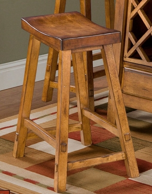 Counter Bar Stool - Biscayne 24 Inch Counter Stool - Largo Furniture - D1173-22