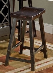 Counter Bar Stool - Biscayne 24 Inch Counter Stool - Largo Furniture - D1181-22