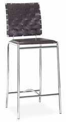 Counter Bar Stool - Criss Cross Counter Stool (Set of 2) - Zuo Modern - 333060
