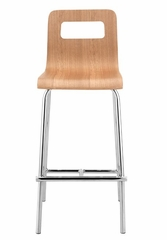 Counter Bar Stool - Escape Counter Stool (Set of 2) - Zuo Modern - 301223