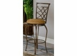 Counter Bar Stool - Glendale Metal Counter Stool with Double Leg - Hillsdale Furniture - 4603-827