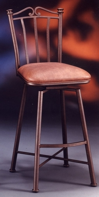 Counter Bar Stool - Laguna Swivel Counter Seat Height Barstool - Pastel - LG-219-26