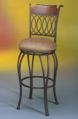Counter Bar Stool - Lexington Swivel Counter Seat Height Barstool - Pastel - LX-222-26