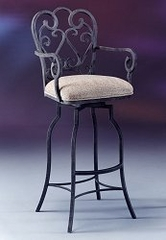 Counter Bar Stool - Magnolia Swivel Counter Seat Height Barstool - Pastel - MA-217-26