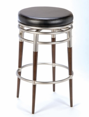 Counter Bar Stool - Salem Backless Swivel Counter Stool - Hillsdale Furniture - 4688-827