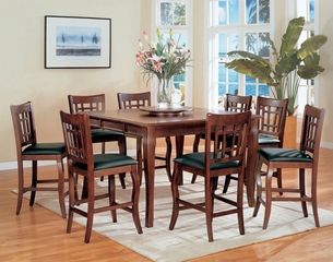 Counter Height Dining Table and Stool Set - Coaster