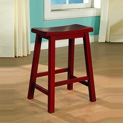 Counter Stool - Color Story Crimson Red - Powell Furniture - 286-430
