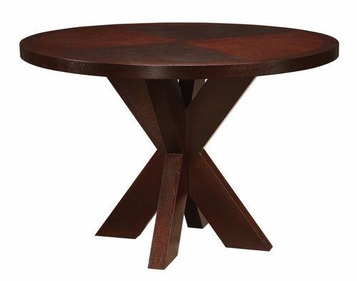 Counter Top Round Table with X Base - Hudson Dining - Modus Furniture - HD2962X
