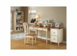 Country Cottage Home Office Collection in Antique White and Cherry - Office Star