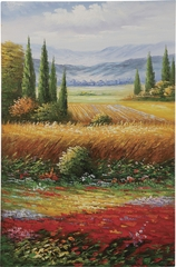 Countryside Colors Oil Painting - 960590