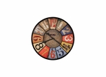 County Line Round Gallery Wall Clock - Howard Miller