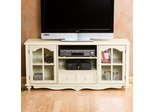 Coventry Large TV Console in Antique White - Holly & Martin
