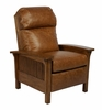 Craftsman II Leather Recliner in Chaps Saddle - 7-4411-CHAPS-SADDLE