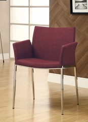 Cranberry Upholstered Dining Chair - Set of 2 - 120723