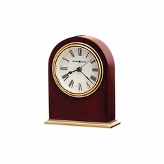 Craven Table Clock with Metal Base - Howard Miller