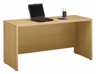 "Credenza 60"" - Series C Light Oak Collection - Bush Office Furniture - WC60361"