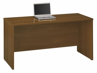 "Credenza 60"" - Series C Warm Oak Collection - Bush Office Furniture - WC67561"