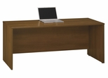 "Credenza 72"" - Series C Warm Oak Collection - Bush Office Furniture - WC67526"