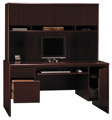 Credenza and Hutch - Bush Office Furniture - OFFPKG-29
