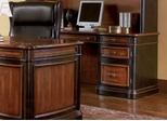 Credenza in Cappuccino / Dark Oak - Coaster