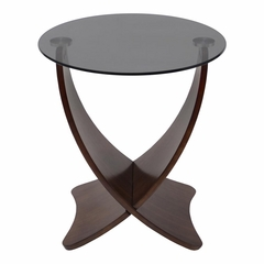 Criss Cross End Table - Lumisource