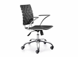 Criss Cross Office Chair - Zuo Modern - 205030