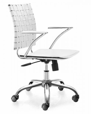 Criss Cross Office Chair - Zuo Modern - 205031