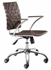 Criss Cross Office Chair - Zuo Modern - 205032