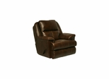 Crosby Leather Recliner in Tobacco - Catnapper