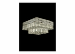 Crystal Flush Mount Chandelier - Dale Tiffany