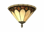 Crystal Jeweled Pebble Stone Wall Sconce - Dale Tiffany