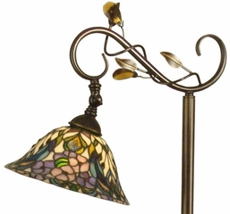 Crystal Peony Floor Lamp - Dale Tiffany - TF90216