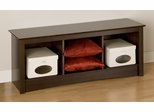 Cubbie Bench in Espresso - Prepac Furniture - ESC-4820