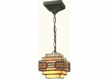 Cube Mission Pendant - Small - Dale Tiffany