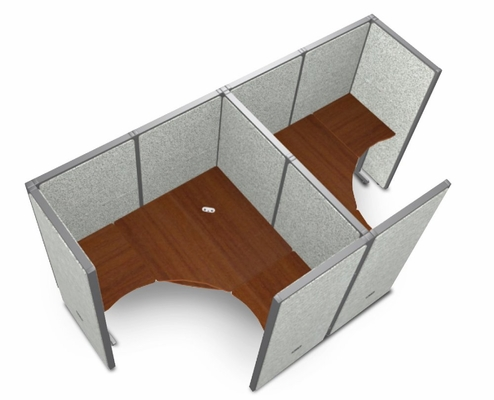 Cubicle Panel System, 1X2 Layout, 63