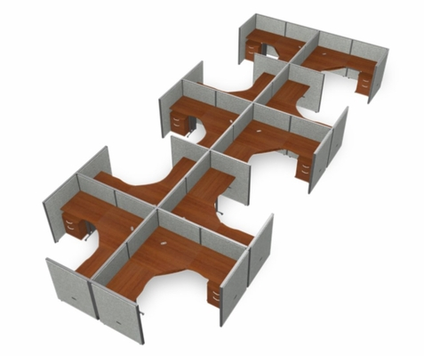 Cubicle Panel System, 2X5 Layout, 47