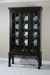 Curio Cabinet - Chinese Chipendale - Ultimate Accents - 95100CU