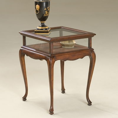 Curio Table in Plantation Cherry - Butler Furniture - BT-1484024